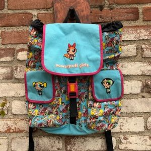Vintage Cartoon Network Powerpuff Girls Backpack